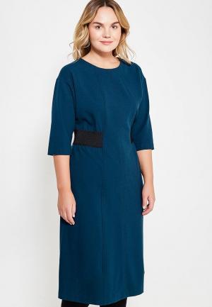 Платье Bonne Femme. Цвет: синий