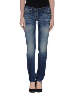 Джинсовые брюки ADELE FADO. Цвет: синий