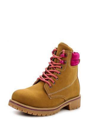 Ботинки Mixfeel. Цвет: коричневый