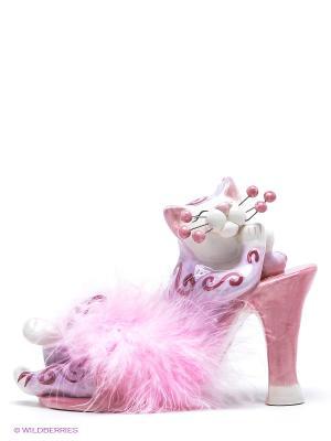 Фигурка Розовые мечты Pavone. Цвет: розовый, белый, фиолетовый