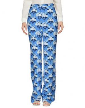 Повседневные брюки MARIA GRAZIA SEVERI. Цвет: пастельно-синий