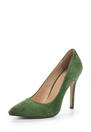Туфли Mascotte. Цвет: зеленый