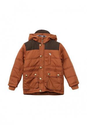 Куртка утепленная E-Bound. Цвет: коричневый
