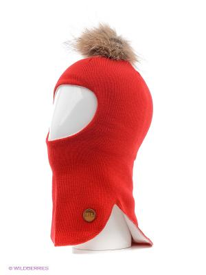 Шапка-шлем NELS. Цвет: красный