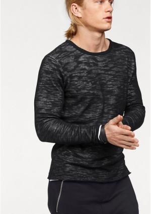 Пуловер JOHN DEVIN. Цвет: черный/белый
