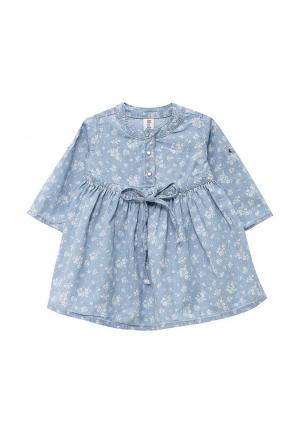 Платье джинсовое Maloo. Цвет: голубой