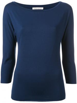 Plain sweatshirt Stefano Mortari. Цвет: синий