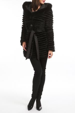 Двухстороннее пальто FUNK since 1776. Цвет: черный