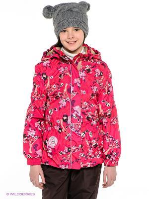 Куртка HUPPA. Цвет: фуксия