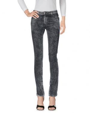 Джинсовые брюки TOM REBL. Цвет: серый