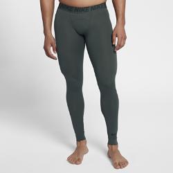 Мужские тайтсы  Training Utility Nike. Цвет: зеленый