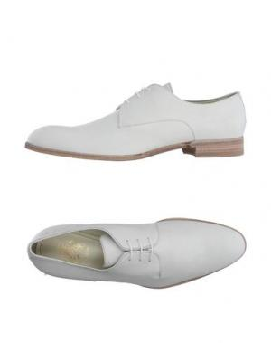 Обувь на шнурках MR.HARE. Цвет: слоновая кость