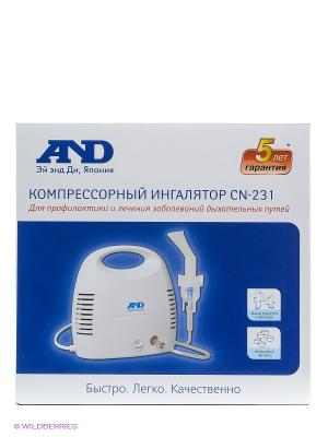 Ингалятор компрессорный A&D CN-231. Цвет: белый