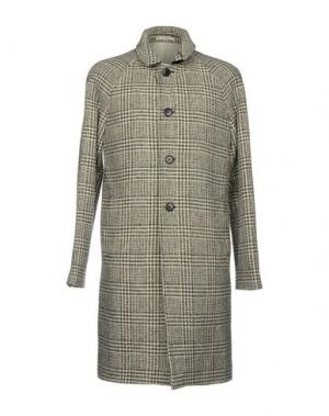 Пальто CLUB MONACO. Цвет: свинцово-серый