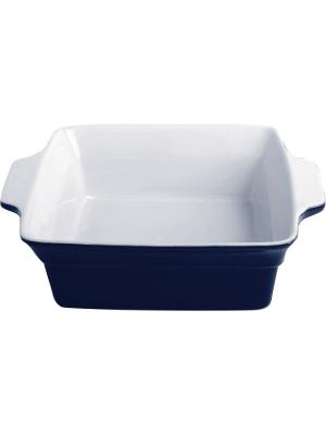 Форма для запекания керамика (духовка/гриль/микроволновка), 24,5*20,3*7,3 см FRANK MOLLER. Цвет: синий