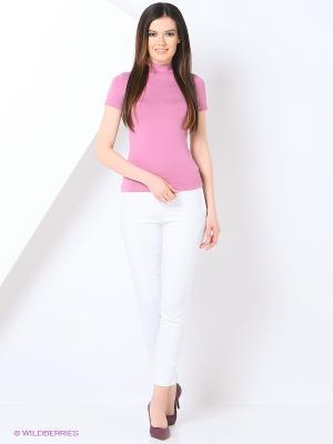 Водолазка RUXARA. Цвет: розовый