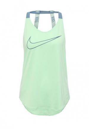 Майка спортивная Nike. Цвет: мятный