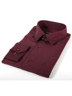 Рубашка Favourite. Цвет: бордовый