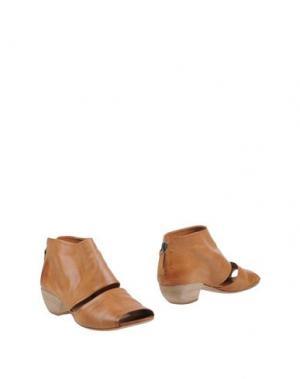 Ботинки EL. Цвет: коричневый