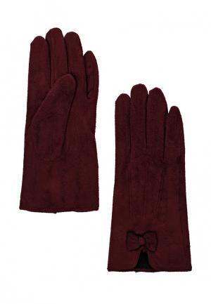 Перчатки Bestia. Цвет: бордовый