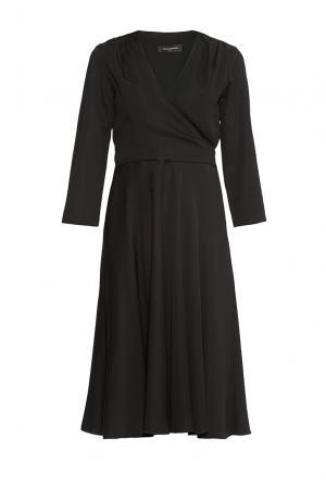 Платье из вискозы 176870 Cyrille Gassiline. Цвет: черный