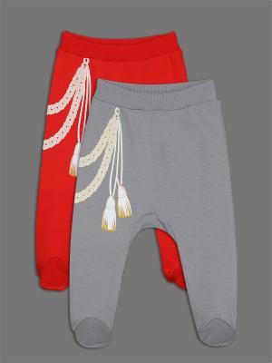 Ползунки ЕМАЕ. Цвет: серый, красный