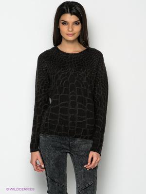 Джемпер Vero moda. Цвет: черный, темно-серый