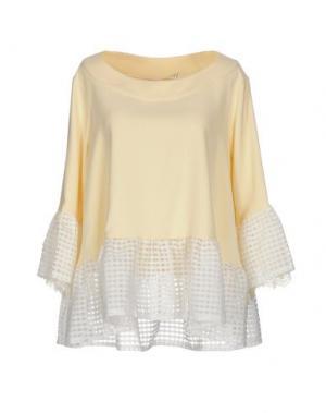 Блузка TILL.DA. Цвет: светло-желтый