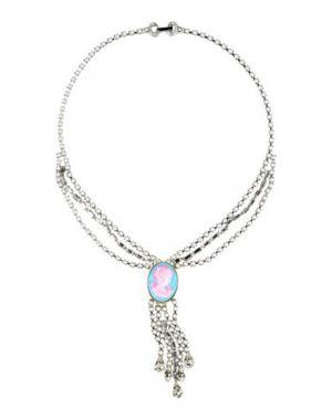 Ожерелье TOM BINNS. Цвет: розовый