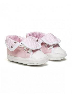 Пинетки United Colors of Benetton. Цвет: бледно-розовый, кремовый, сиреневый
