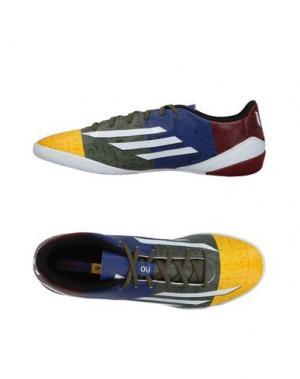 Низкие кеды и кроссовки ADIDAS. Цвет: желтый