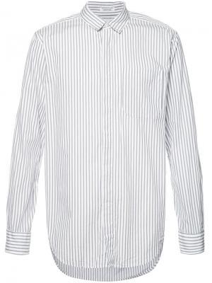 Wide stripe longsleeve shirt Engineered Garments. Цвет: серый