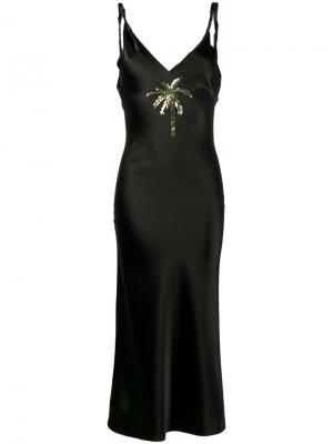 Платье-комбинация Caroline Attico. Цвет: чёрный