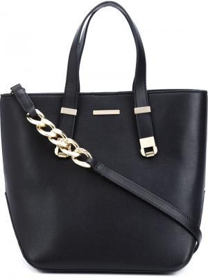 Маленькая сумка-тоут Thomas Wylde. Цвет: чёрный