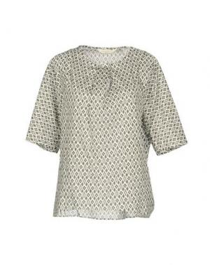 Блузка GUGLIELMINOTTI. Цвет: темно-зеленый