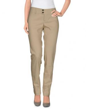 Повседневные брюки LIST. Цвет: бежевый