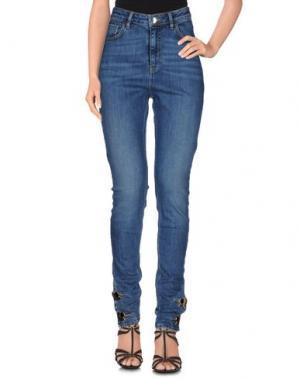 Джинсовые брюки ANTHONY VACCARELLO. Цвет: синий
