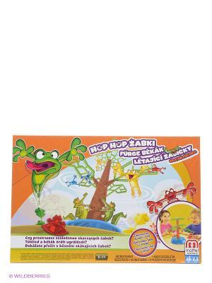 Игра Летающие лягушки MATTEL GAMES. Цвет: оранжевый