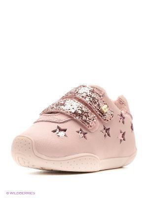 Ботинки Bibi. Цвет: бледно-розовый
