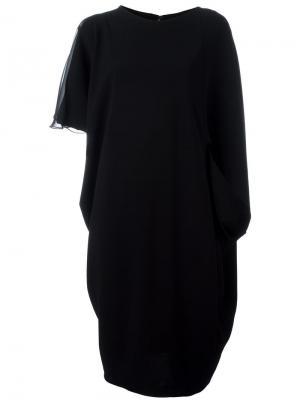 Платье Lodovica Talbot Runhof. Цвет: чёрный