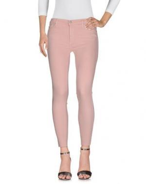 Джинсовые брюки BLACK ORCHID. Цвет: розовый