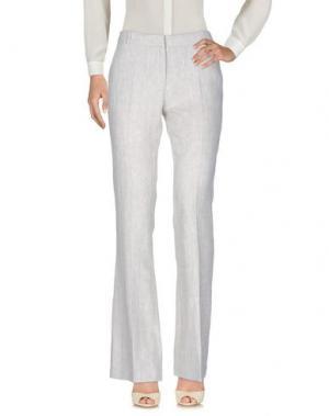Повседневные брюки KILTIE. Цвет: светло-серый
