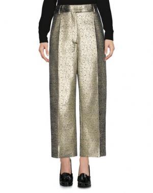 Повседневные брюки EMANUEL UNGARO. Цвет: платиновый