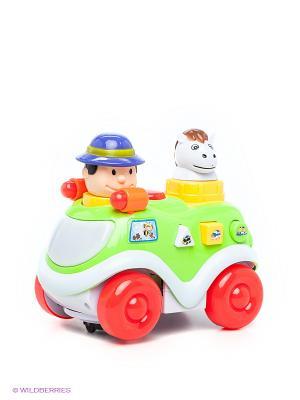 Музыкальная игрушка Машинка VELD-CO. Цвет: зеленый, красный, белый