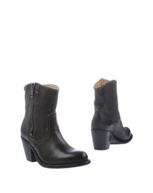 Полусапоги и высокие ботинки FRYE. Цвет: стальной серый