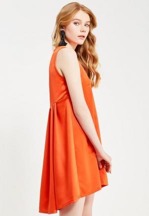 Платье Tutto Bene. Цвет: оранжевый
