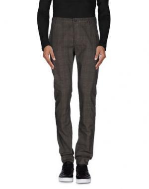 Повседневные брюки DNM-BRAND. Цвет: свинцово-серый