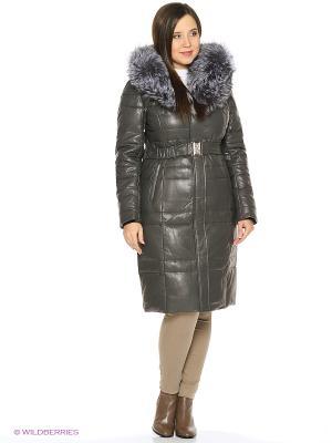 Пальто OSTRICH. Цвет: темно-серый