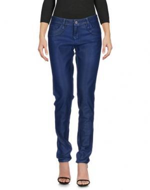 Джинсовые брюки BLEULAB. Цвет: ярко-синий