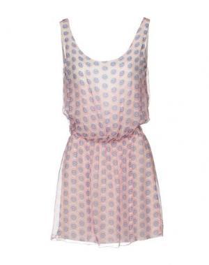 Короткое платье GIORGIA & JOHNS. Цвет: светло-розовый